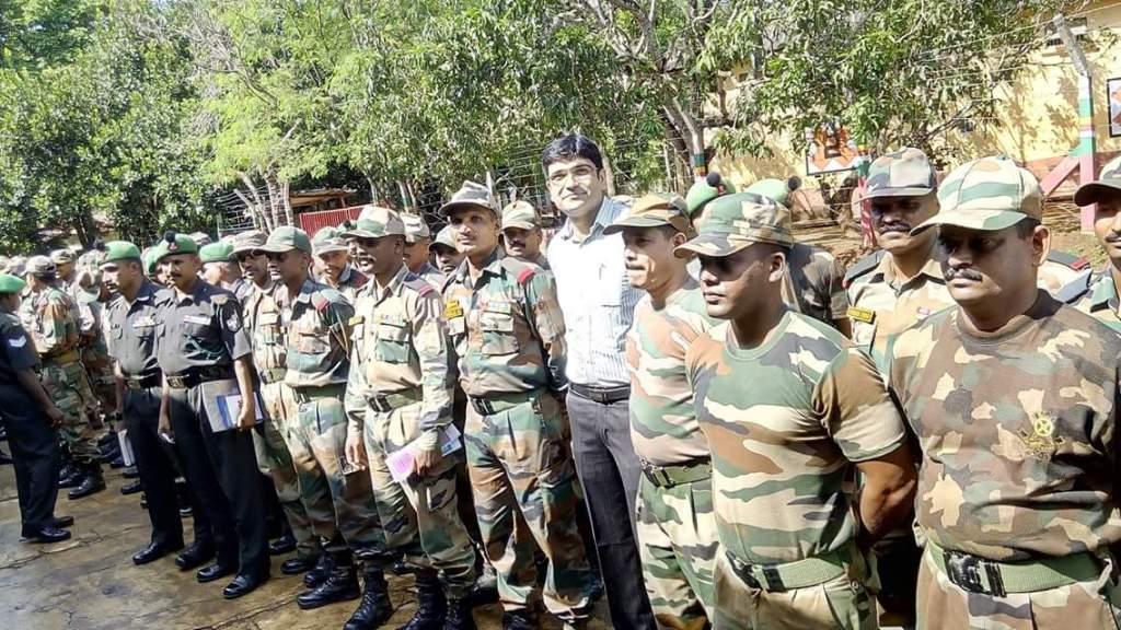Vivek Karwa Army Camp Investors Awareness Program