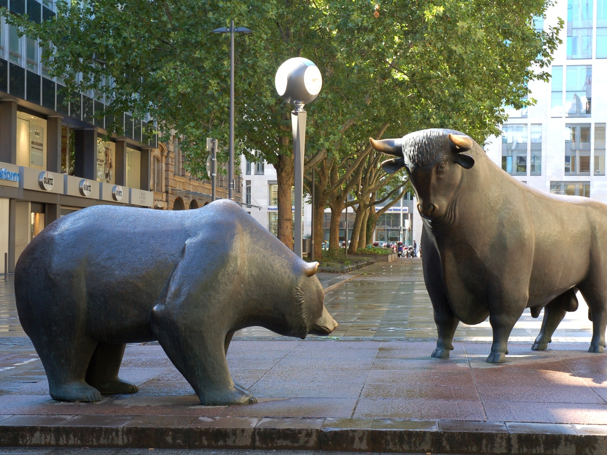 Bull and Bear in Stock Market